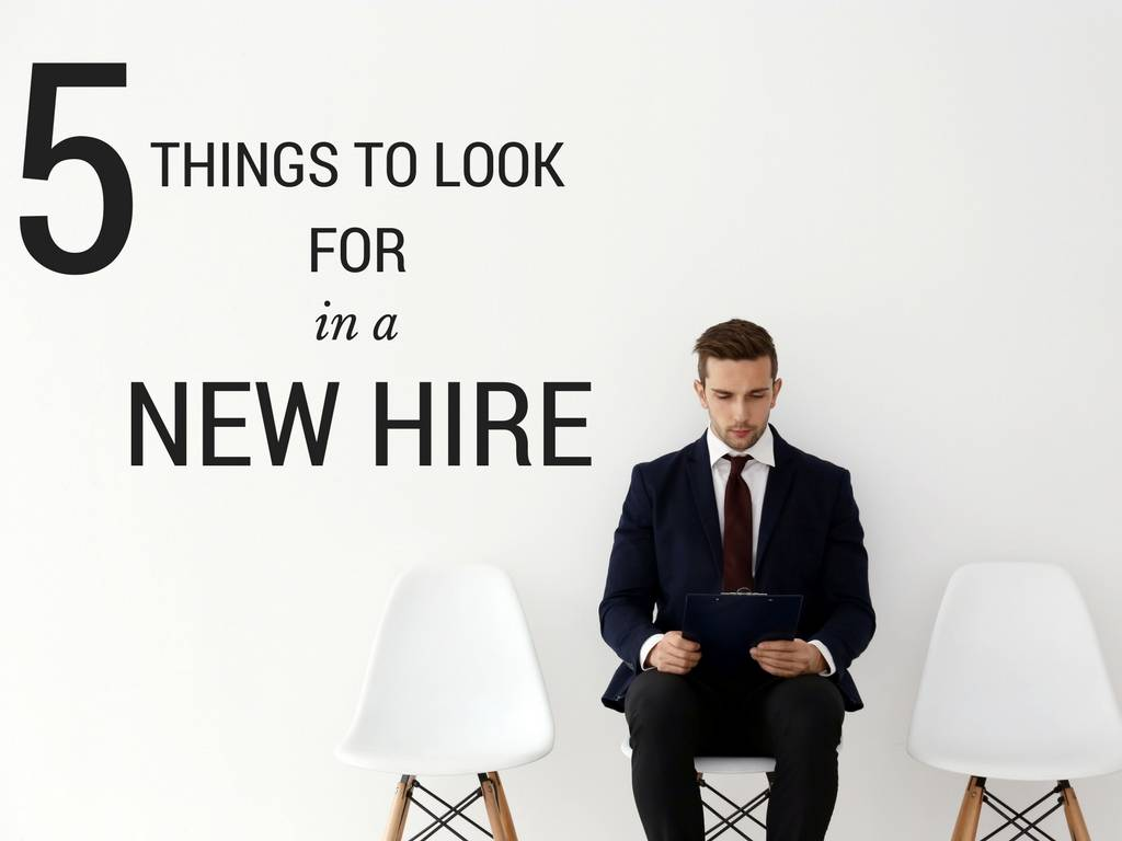 tips for hiring new employees
