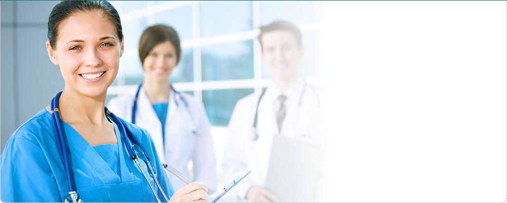 Healthcare doctors and nurse